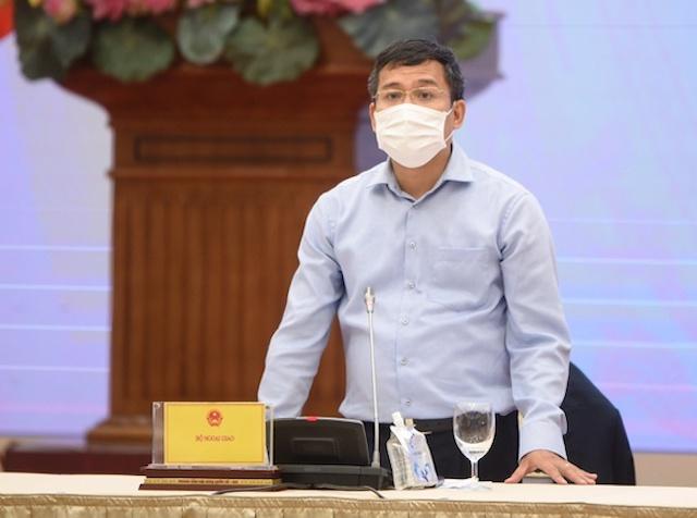 Thứ trưởng Bộ Ngoại giao Nguyễn Minh Vũ.