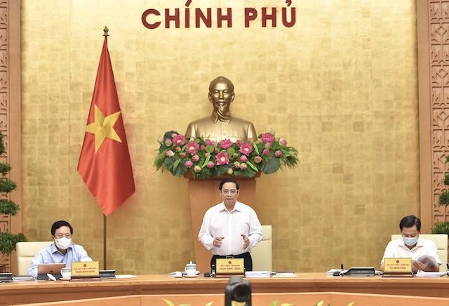 Sáng nay, Thủ tướng chủ trì họp Chính phủ thường kỳ tháng 8