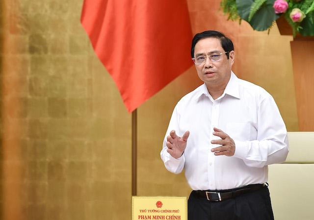 Thủ tướng Phạm Minh Chính. Ảnh: Báo Chính phủ.