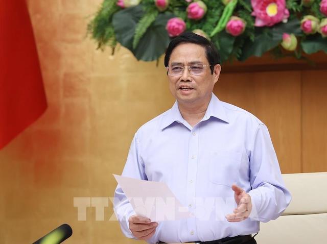 Thủ tướng Phạm Minh Chính, Trưởng Ban Chỉ đạo Quốc gia phòng, chống dịch Covid-19.