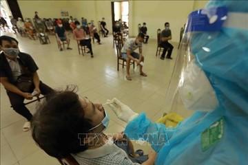 Hà Nội: Xét nghiệm diện rộng thần tốc 100% người dân trong vòng 1 tuần