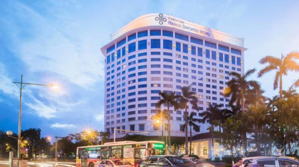 Khách sạn Daewoo tại Hà Nội. Nguồn: daewoohotel.com