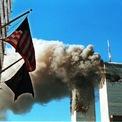 """<p class=""""Normal""""> Tòa tháp đầu tiên bị tấn công lúc 8h46 ngày 11/9/2001.</p> <p class=""""Normal""""> 5 kẻ tấn công cướp chuyến bay Flight 11 của American Airlines rồi lao phi cơ Boeing 767 vào Tháp Bắc của Trung tâm Thương mại Thế giới (WTC) ở Manhattan, New York.</p> <p class=""""Normal""""> Vài phút sau, Tháp Nam của WTC bị tấn công bởi phi cơ Boeing 767, sử dụng cho chuyến bay Flight 175 của United Airlines. 5 tên không tặc cướp máy bay khoảng 30 phút sau khi phi cơ cất cánh. Ảnh: <em>Getty Images.</em></p>"""