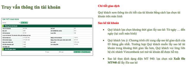 Mách nước sao kê tài khoản ngân hàng đơn giản mùa dịch - Ảnh 2.