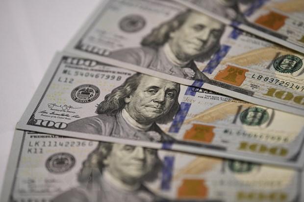 Đồng đôla Mỹ tại Washington DC. Ảnh: THX/TTXVN.
