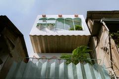 Ngôi nhà màu pastel trong hẻm nhỏ ở TP HCM