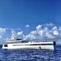 """<p class=""""Normal""""> Chi phí sản xuất du thuyền Venus của Steve Jobs vào khoảng 100 triệu euro. Nó có thể đi với tốc độ trung bình là 18 hải lý/giờ và tối đa là 20,5 hải lý/giờ. Ảnh: W<em>oodsholeinn / Instagram</em></p>"""