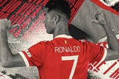 Doanh thu bán áo đấu MU của Ronaldo lập kỷ lục