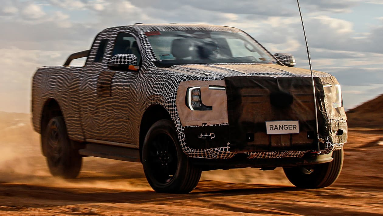 Ford Ranger thế hệ mới lộ diện