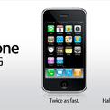 <p> Sau sự thành công đầy bất ngờ của iPhone 2G, một năm sau, vào ngày 11/7/2008, Apple công bố chiếc iPhone thế hệ thứ 2 với tên gọi iPhone 3G. Sản phẩm mới gần như khác biệt với người tiền nhiệm, với lớp vỏ nhựa đen, hỗ trợ mạng 3G giúp tốc độ lướt web nhanh hơn, hỗ trợ định vị GPS và bộ nhớ trong được mở rộng tới 16 GB. (Ảnh:<em> Apple</em>)</p>
