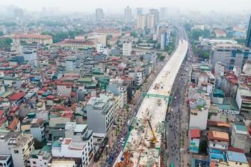 Hệ thống 7 đường vành đai ở Hà Nội đang được thực hiện thế nào?
