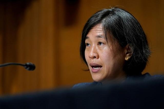 Đại diện Thương mại Mỹ Katherine Tai mới chỉ có một cuộc điện đàm với đồng cấp người Trung Quốc kể từ khi bà được thượng viện phê chuẩn. Ảnh: Reuters