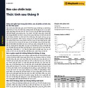 MBKE: Báo cáo chiến lược - Thức tỉnh sau tháng 9