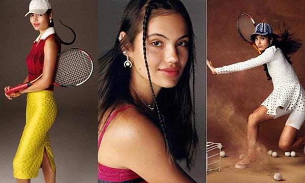 Trang phục gây sốt của tay vợt vô địch Mỹ mở rộng