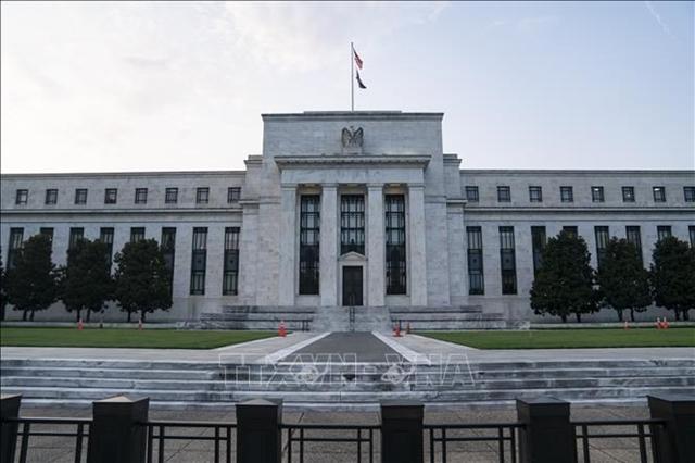 Trụ sở Fed tại Washington, D.C., Mỹ, ngày 15/7. Ảnh: THX/TTXVN
