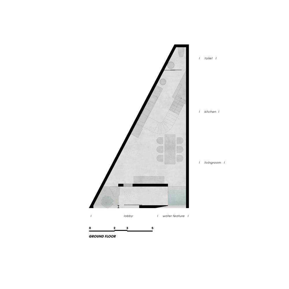 Đất hình tam giác vuông thì xây nhà thế nào? - Ảnh 10.