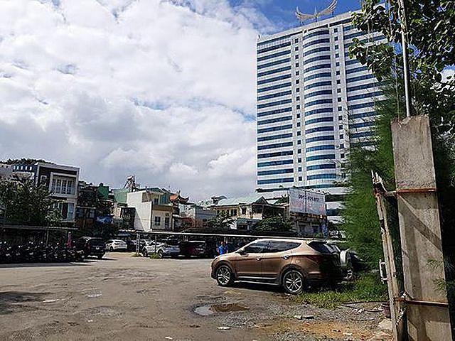 Khu đất 2.144m2 ở mặt tiền đường Nguyễn Văn Linh – Hoàng Diệu sẽ được TP Đà Nẵng đấu giá quyền sử dụng đất làm bãi đỗ xe