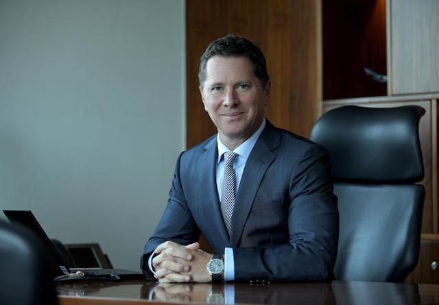 Ông Tim Evans, Tổng giám đốc HSBC Việt Nam.