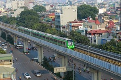 'Hé lộ' mốc thời gian về đích dự án đường sắt Cát Linh - Hà Đông