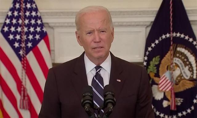 Tổng thống Mỹ Joe Biden công bố kế hoạch siết yêu cầu tiêm vaccine Covid-19 bắt buộc ngày 9/9. Ảnh: Reuters