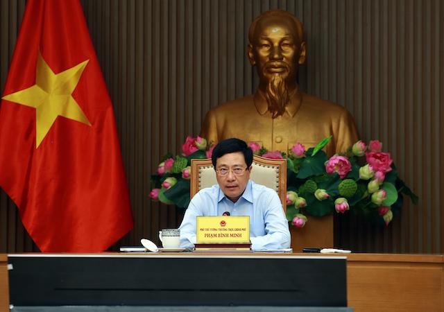 Phó Thủ tướng Thường trực Phạm Bình Minh.