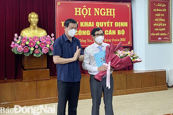 UBND tỉnh Đồng Nai có tân Phó Chủ tịch