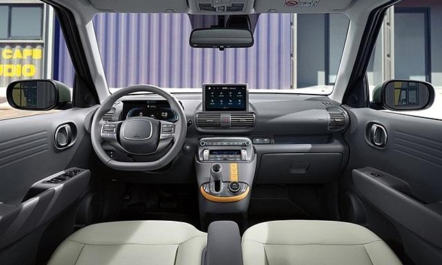 Hyundai Casper lộ thiết kế nội thất