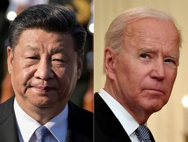 Chủ tịch Trung Quốc Tập Cận Bình (trái) và Tổng thống Mỹ Joe Biden. Ảnh: AFP