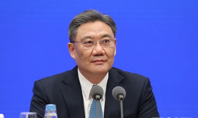 Bộ trưởng Thương mại Trung Quốc Vương Văn Đào. Ảnh: SCIO.