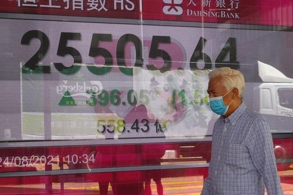 Chứng khoán châu Á trái chiều, thị trường Trung Quốc giảm sâu nhất khu vực