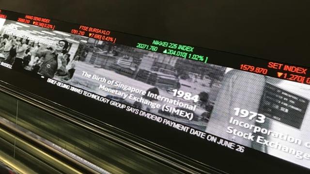 Singapore vừa thông báo hàng loạt sáng kiến để thúc đẩy thị trường chứng khoán. Ảnh: CNBC.