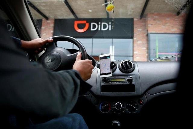 Ứng dụng của Didi - gã khổng lồ gọi xe Trung Quốc - bị yêu cầu xóa bỏ khỏi các kho ứng dụng trên điện thoại thông minh. Ảnh: Reuters.