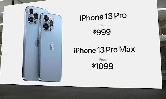 iPhone 13 Pro Max được đánh giá ăn khách nhất.