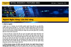 MBKE: Ngành ngân hàng - Lửa thử vàng