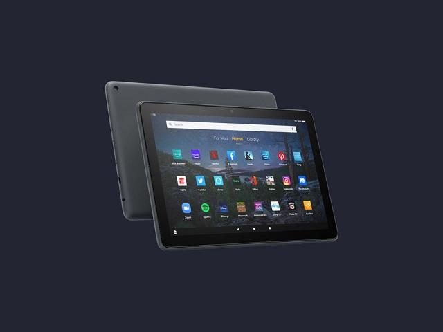 Máy tính bảng Amazon Fire HD 10 với màn hình lớn 10,1 inch. Ảnh: Wired.