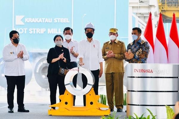 Indonesia khánh thành nhà máy thép 1,5 triệu tấn/năm