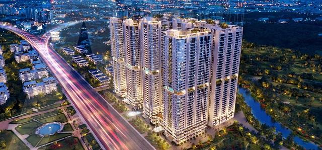Dự án Phức hợp Thương mại & Căn hộ cao cấp Astral City nằm ngay vị trí mặt tiền Quốc lộ 13, thành phố Bình Dương.