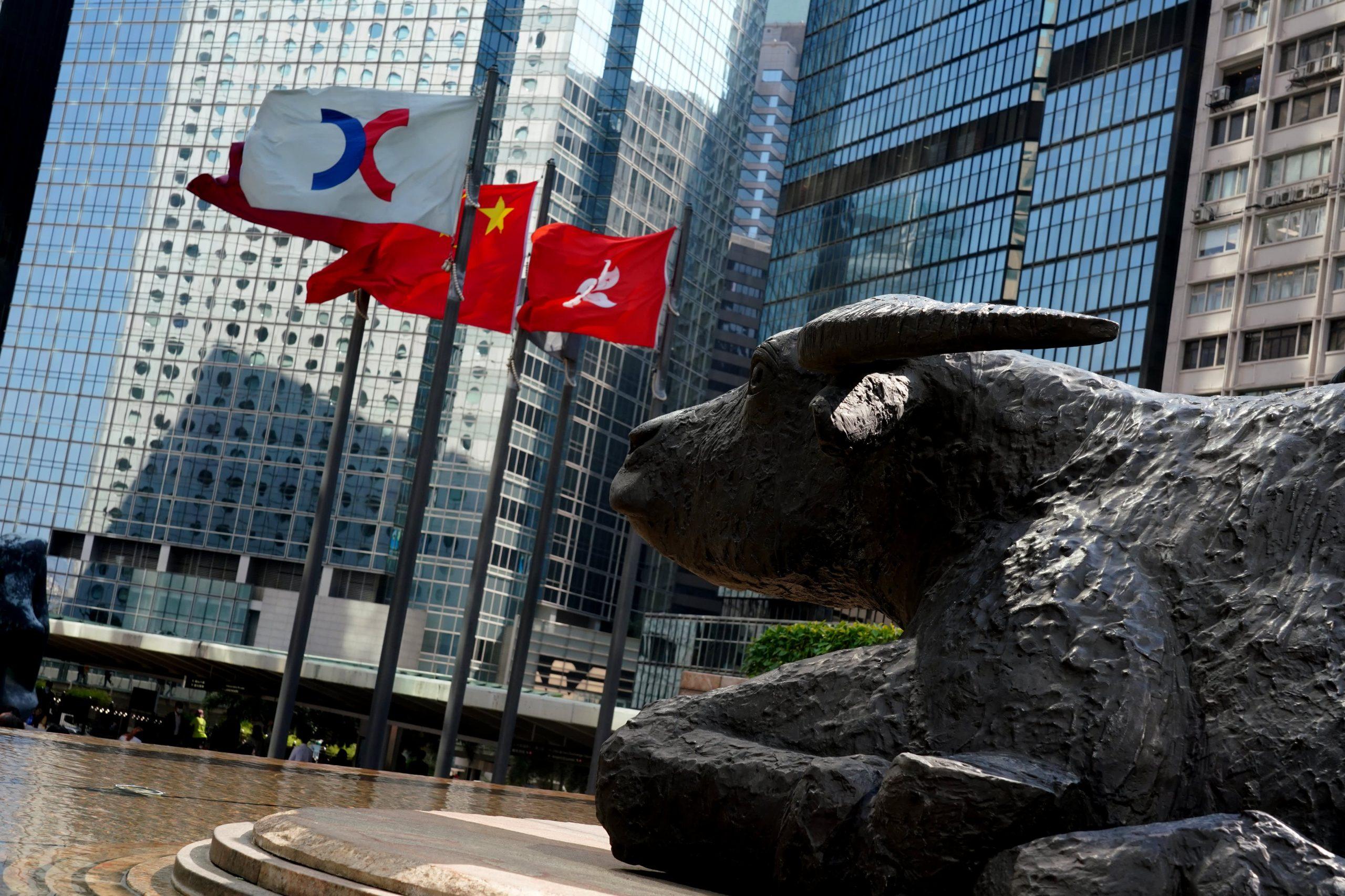 Chứng khoán châu Á hầu hết đi lên, cổ phiếu Evergrande tăng 17% sau chuỗi ngày bị bán mạnh