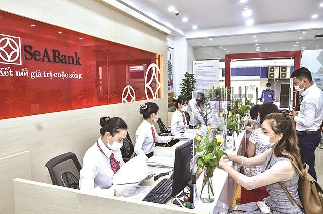 Ngân hàng hỗ trợ doanh nghiệp. Ảnh: SeABank.