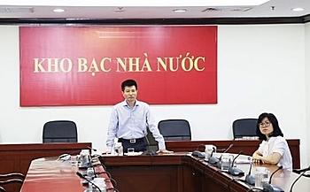Theo ông Lưu Hoàng, Cục trưởng Cục Quản lý ngân quỹ (KBNN), trái phiếu Chính phủ là công cụ đầu tư an toàn, hiệu quả đối với các nhà đầu tư. Ảnh: KBNN