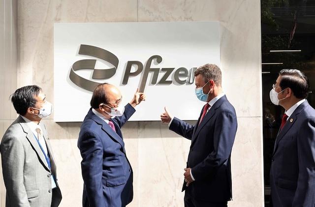 Pfizer sẽ cấp đủ 31 triệu liều vaccine cho Việt Nam năm nay