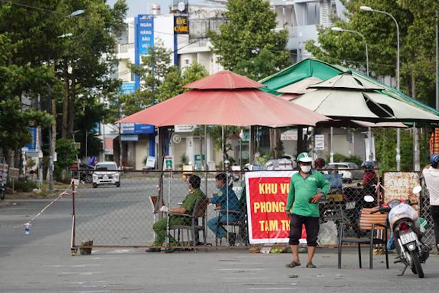 Khu vực phường Hưng Phú (quận Cái Răng) vẫn thực hiện chỉ thị 16.