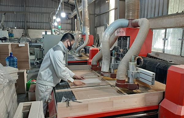 Chủ động nguồn nguyên liệu để đảm bảo xuất khẩu gỗ 'về đích' 14 tỷ USD