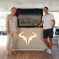 <p> Chiếc Great White của tay vợt Rafael Nadal được làm bởi hãng đóng tàu Sunreef Yacht cũng được trưng bày ở Monaco trong dịp này. Du thuyền dài 24m sơn màu xanh lam được gắn 2 động cơ 1.200 mã lực có thể đạt vận tốc tối đa 24 hải lý/giờ hoặc vận tốc hành trình 14 hải lý/giờ. Ảnh:<em>Rafaelnadal/instagram</em></p>