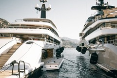 Cảnh xa xỉ tại triển lãm du thuyền Monaco, nơi quy tụ tài sản của nhà giàu thế giới