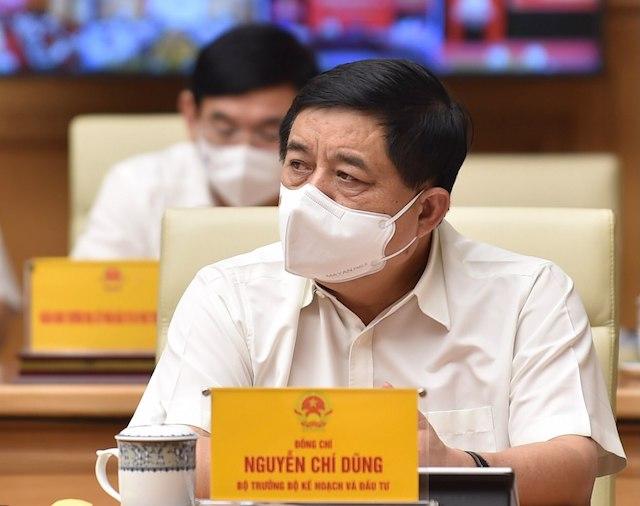 Bộ trưởng Kế hoạch & Đầu tư Nguyễn Chí Dũng. Ảnh: Báo Chính phủ.