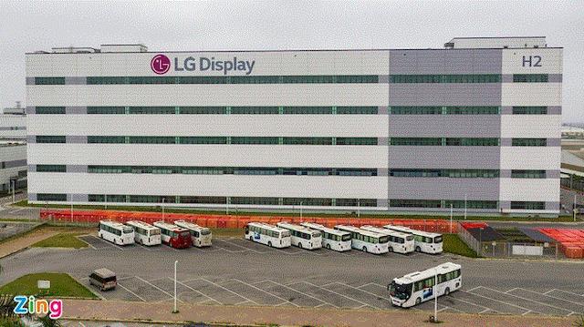 dự án LG Display Hải Phòng tăng thêm 1,4 tỷ USD của nhà đầu tư Hàn Quốc vào ngày 30/8 vừa qua.