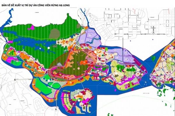 Vingroup đề xuất làm công viên 650 ha đối diện khu phức hợp Hạ Long Xanh