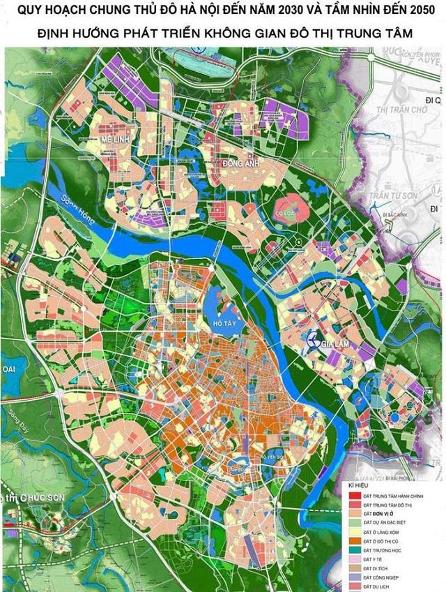 UBND TP Hà Nội giao Viện Quy hoạch xây dựng Hà Nội là đơn vị tổ chức lập điều chỉnh tổng thể Quy hoạch chung xây dựng Thủ đô Hà Nội đến năm 2030 và tầm nhìn đến năm 2050.