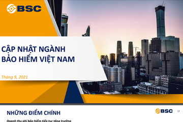 BSC: Ngành bảo hiểm Việt Nam